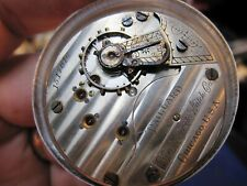 18s Paillard Non-Magnetic Watch Co Illinois 17J Ls Of pocket watch movement