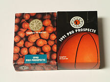 1990 & '91 Star Pics Basketball Pro Prospects card sets.  Possible Autographs