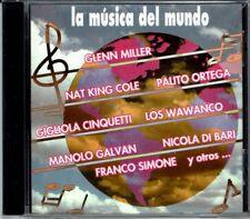 La Musica del Mundo   BRAND  NEW SEALED CD