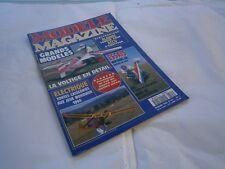 Revue RC Avion modélisme Modéle magazine plan encarté F-Acil 2 début  aile basse