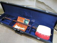 Japan Vintage#SHAMISEN Set Classic Stringed Instrument HOSOZAO w/Hard Case#8774