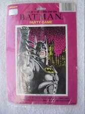 Unique Batman Stick Emblem Party Game Pin Tail on Donkey 1992 D.C. Comics Pink