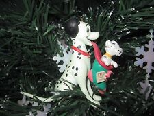 ENESCO DISNEY 101 DALMATIONS  CHRISTMAS ORNAMENT EUC