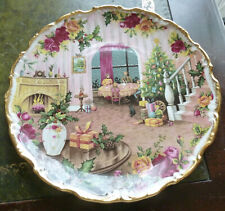 More details for royal albert ~ christmas magic ~ celebration of an old country roses ~ plate