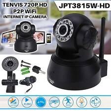 Wireless WIFI Cámara IP Tenvis 720P HD CCTV IR Visión Nocturna Seguridad Hogar Tienda