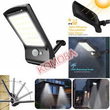 36 LED Solar Lights Motion Sensor Wall Lamp Outdoor Waterproof Garden Yard Light