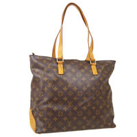LOUIS VUITTON CABAS MEZZO HAND TOTE BAG DU0013 PURSE MONOGRAM M51151 40407