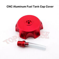 Red Petrol Gas Fuel Tank Cap Cover For Pit Dirt Motor Bike CR125 CR250 2003-2013