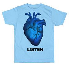 Listen T shirt Design, The Kooks Inspired