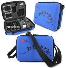 Ltd Edition Blue Custom-Fit EVA Case for GoPro HD Helmet Hero, HD Naked Hero