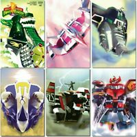 BOOM! Mexico MIGHTY MORPHIN POWER RANGERS Goni Montes Variant Set