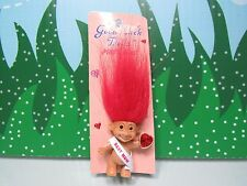 "BEST  MOM  - 1 1/2"" Russ Troll - NEW ON CARD - Last One"