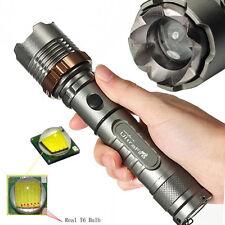 Super Bright Tactical 3000 LM CREE XML T6 LED 18650 Flashlight Focus Torch Lamp