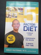 The 5-Factor Diet by Harley Pasternak PB Autographed NEW