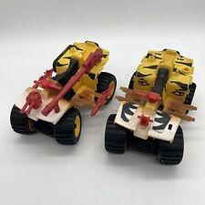 Lot of 2 Incomplete Vintage Hasbro GI Joe Tiger Paw Vehicle