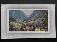 Wales SNOWDON - THE PASS AT LLANBERIS c1911 by Raphael Tuck 9759