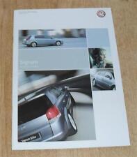 Vauxhall Signum Brochure 2005 Elite Design 1.8 2.2 16v 2.0 T 3.2 V6 3.0 1.9 CDTI