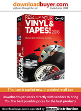 MAGIX Rescue Your Vinyl & Tapes 2016 - [Boxed]