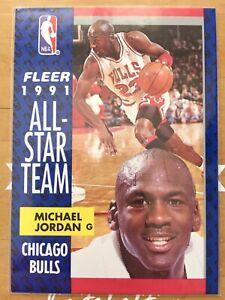 1991 Fleer Michael Jordan #211 All-star Team