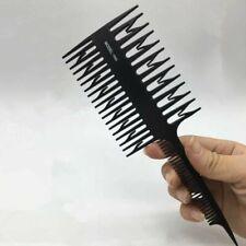 1pc Unisex Big Tooth Comb Hair Dyeing Tool Highlighting Comb Brush Salon Design
