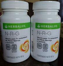 2 Bottles Herbalife Nrg Tea (60g) each. Free Shipping! exp 05/2022