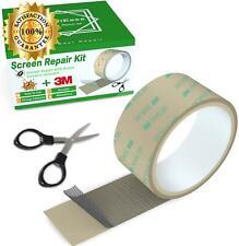 Screen Repair Kit, 2 Inch X 10 Feet Window And Door Screen Repair Patch Tape Str