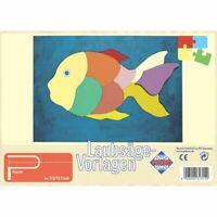 PEBARO Laubsägevorlage Fisch, Puzzle