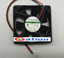 For Sunon fan KDE1206PHV1 DC 12V 1.6W 2 Wire