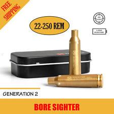Xhunter Laser Bore Sighter 22-250 Rem Rifle Shooting Cartridge Red Dot Boresight