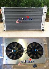 52mm Aluminum Radiator & Shroud & FANS for Holden Commodore VZ LS1 LS2 SS V8