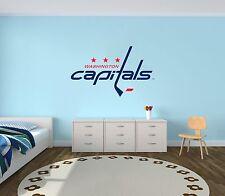 Washinton Capitals NHL Hockey Wall Decal Decor For Home Car Laptop Sports