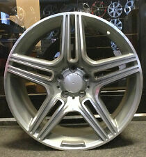 "4 x 19"" AMGM 5 SPOKE STYLE ALLOY WHEELS FIT MERC C CLASS E CLASS S CLASS"