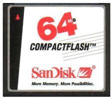 SanDisk 64MB CF Compact Flash Camera Memory Card