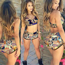 Women Bandage Bikini Set Padded Push Up Swimwear Swimsuit Bathing Suit Beachwear