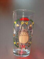 Studio Ghibli My Neighbor Totoro 16 oz. Collectible Glass. Rare To Find!!!