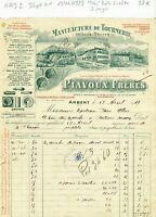 Dépt 01 - Arbent - Très Belle Entête Manufacture de Tournerie du 18/04/1929