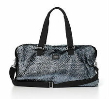 NWT Victoria's Secret Pink Bling Sequins Duffle Tote Bag Weekender Travel Carry
