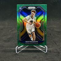 2021 Basketball Prizm NBA Nico Mannion Green Rookie Card #293