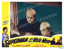 SUPERMAN AND THE MOLE MEN LOBBY SCENE CARD # 2 POSTER 1951