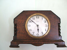 Oak French Antique Mantel & Carriage Clocks (Pre-1900)