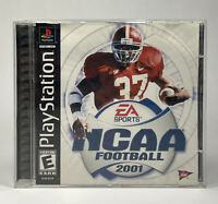 EA Sports NCAA Football 2001 (Sony PlayStation PS1, 2000) Complete | Tested