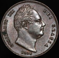 More details for 1836 | william iiii farthing | copper | coins | km coins