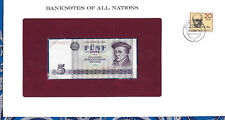 Banknotes of All Nations GDR East Germany 1975 5 Mark UNC P 27a IH003987 Low
