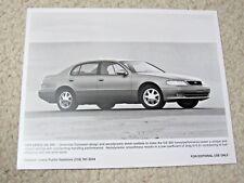 1997 LEXUS GS300 ORIGINAL PRESS PHOTO..