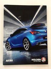 2016 Holden Astra 16-page Australia Car Sales Brochure Catalog - Saturn Opel