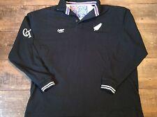 New Zealand L/s Rugby Union Shirt Adults XXL 2XL All Blacks Classic Jersey