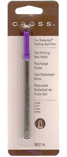 CROSS GEL ROLLING BALL REFILL  VIOLET PURPLE  NEW IN PACK 8014