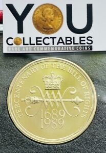 1989 £2 Two pounds coin Royal Mint Bill of Rights from a Royal Mint Proof Set.