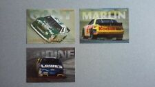 1995 Lot of 3 Maxx LICENSE TO DRIVE SERIES 1 and 2 NASCAR Insert Cards