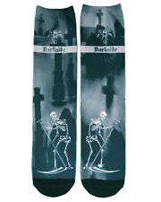Darkside Gothic Goth Occult Death Tarot Printed Ankle Socks Polyester Unisex